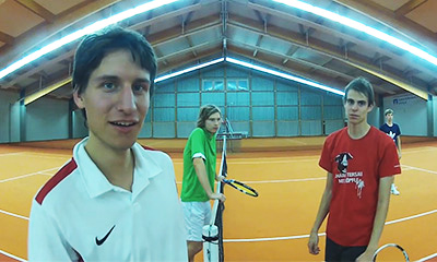 Vimeo Video: Weitwinkel Tennis Doppel
