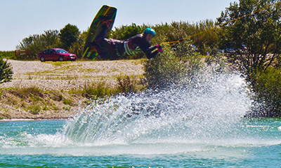 Vimeo Video: Wakeboarden in Aschheim