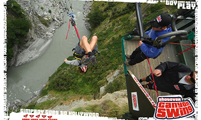 lakeles Video: Canyonswing überm Shotover River